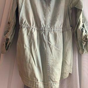 Garage Jackets & Coats - Drawstring waist denim jacket